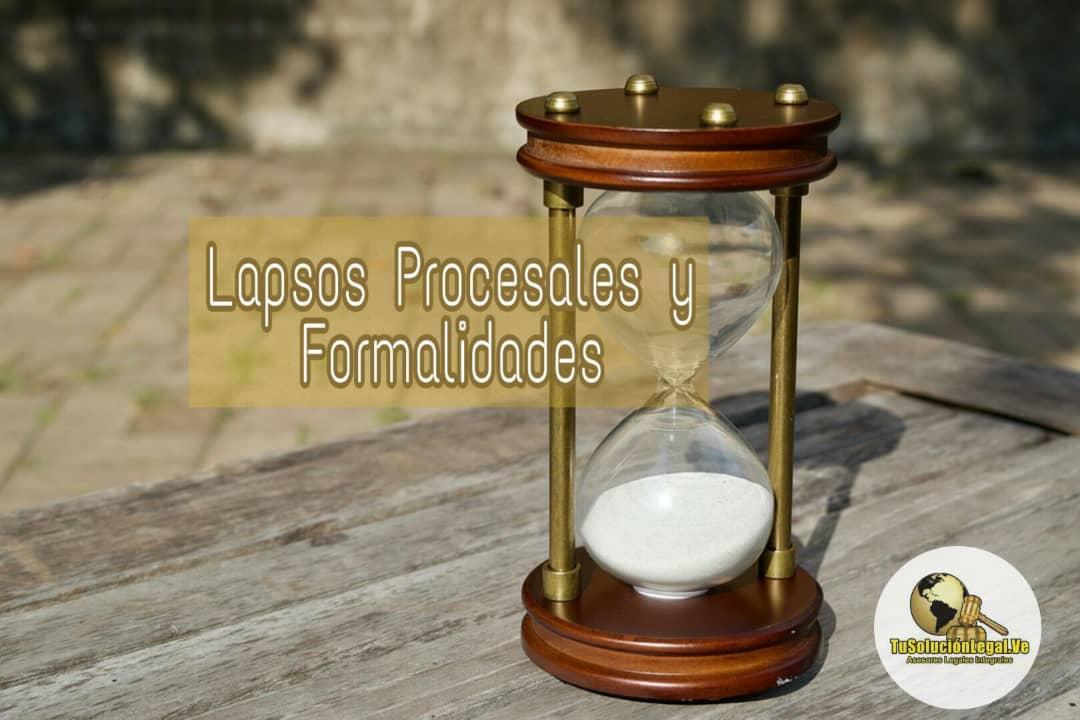 Lapsos Procesales