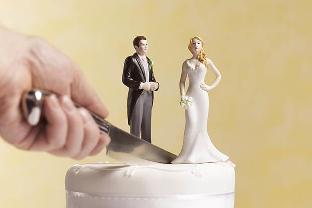 partición bienes conyugales, divorcio