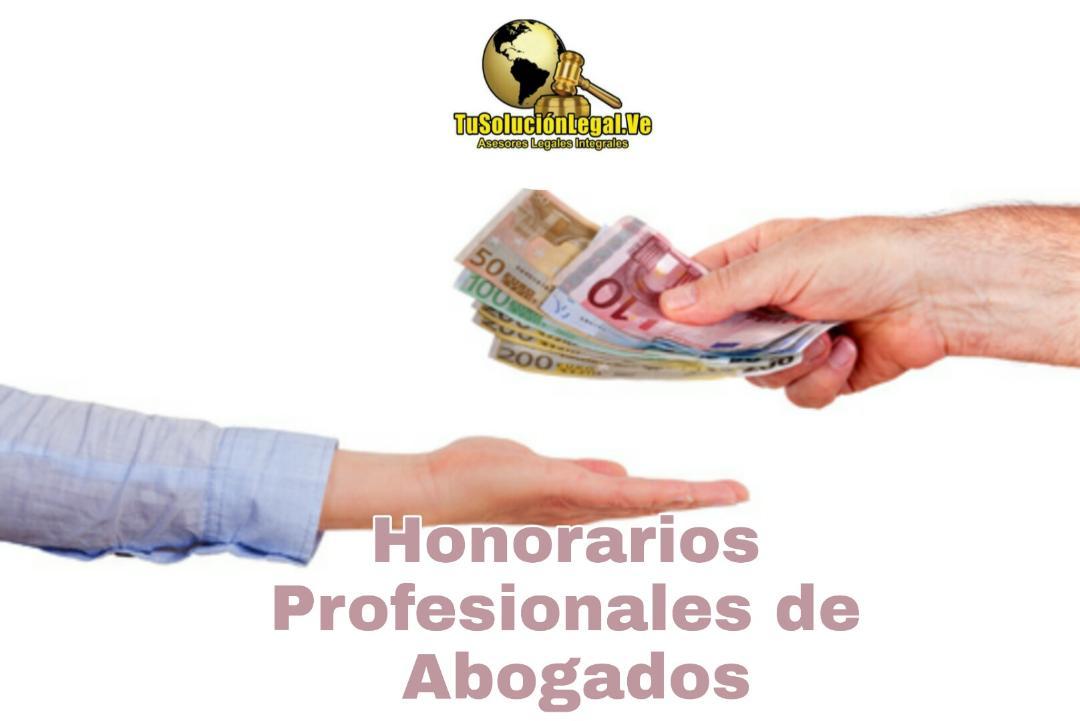 Honorarios Profesionales de Abogados
